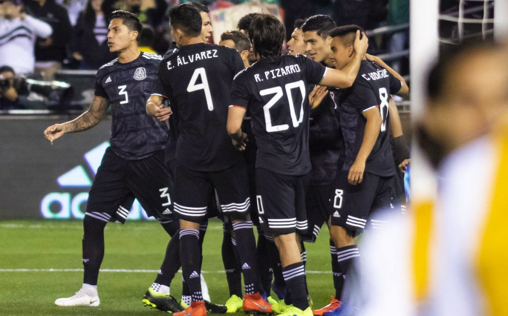 La selección mexicana se impone a Paraguay M xico vs Paraguay 1024x637