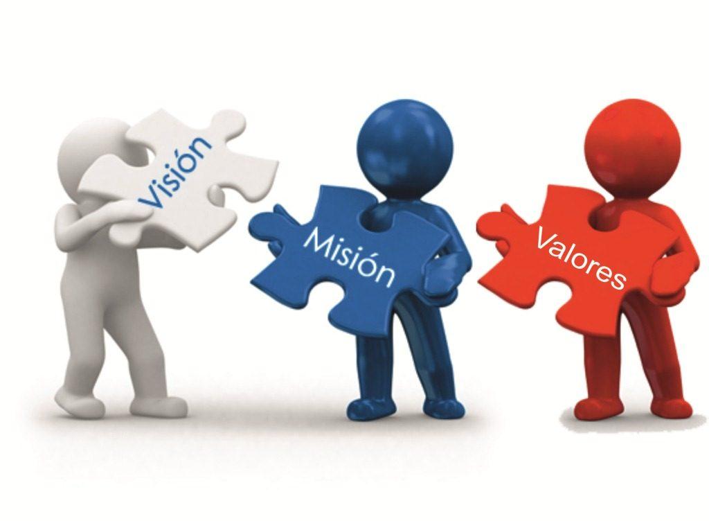 ¿Cómo plantear la misión, visión y valores de una empresa? Misin vision valores 1024x752