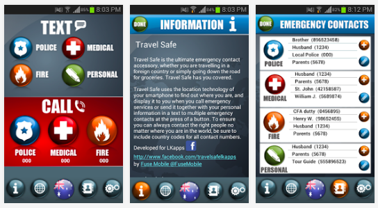 Apps que te ayudaran en tus viajes Travel Safe