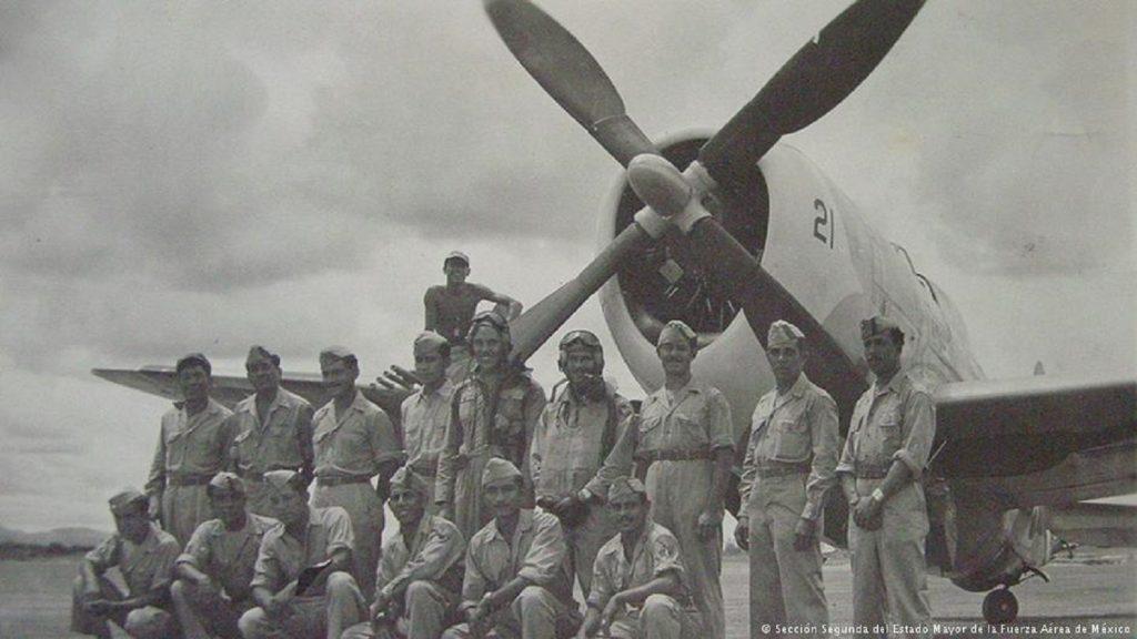 28 de Mayo, México le declaro la Guerra a los países del Eje. Mexico escuadr n 201 1024x576