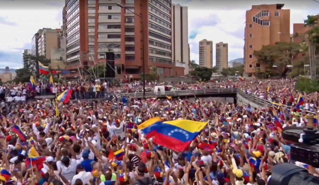 Continua la represión a los manifestantes en Venezuela Venezuela manifestacion 1024x594