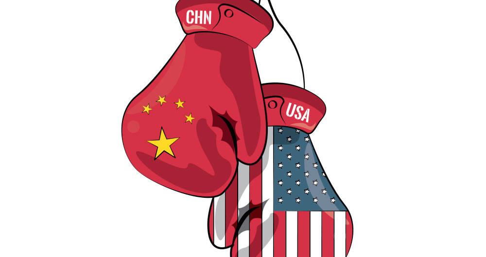La Guerra Comercial entre China y Estados Unidos. guerra comercial