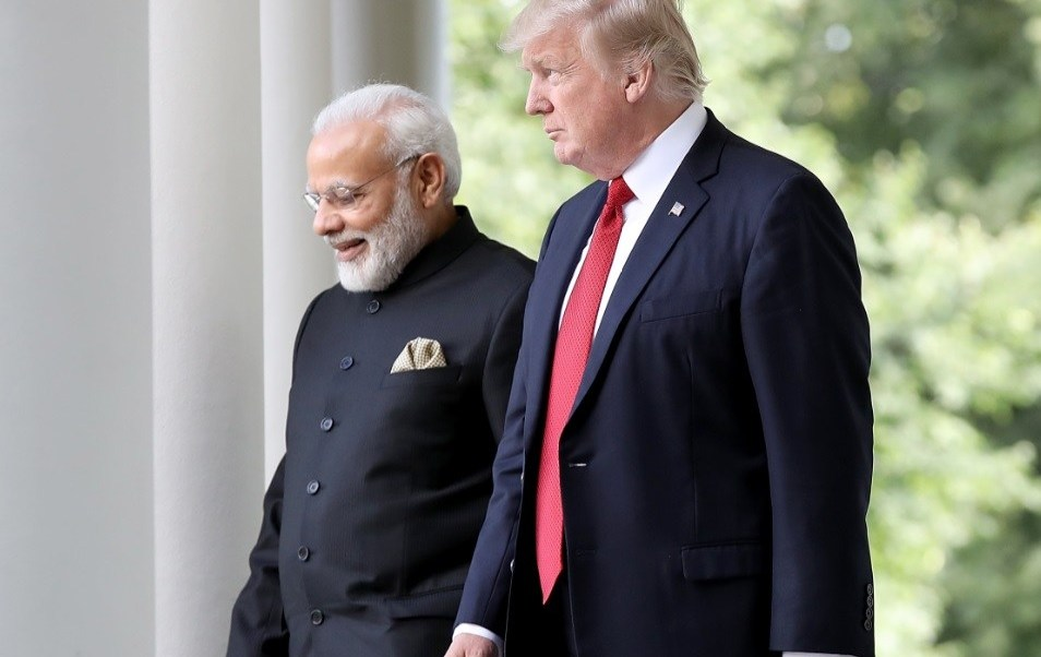 India impone aranceles a EUA primer ministro india y trump