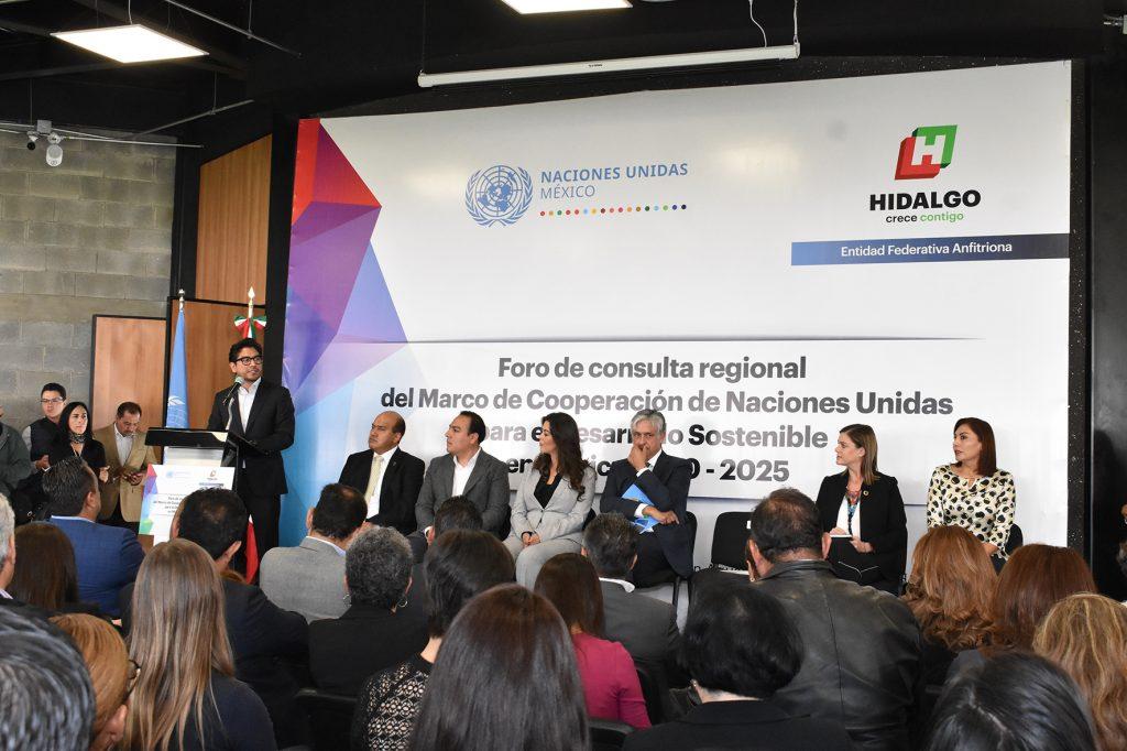 INAUGURA TITULAR DE LA SEPPEH FORO DE CONSULTA REGIONAL DE LA ONU foro2 1024x682