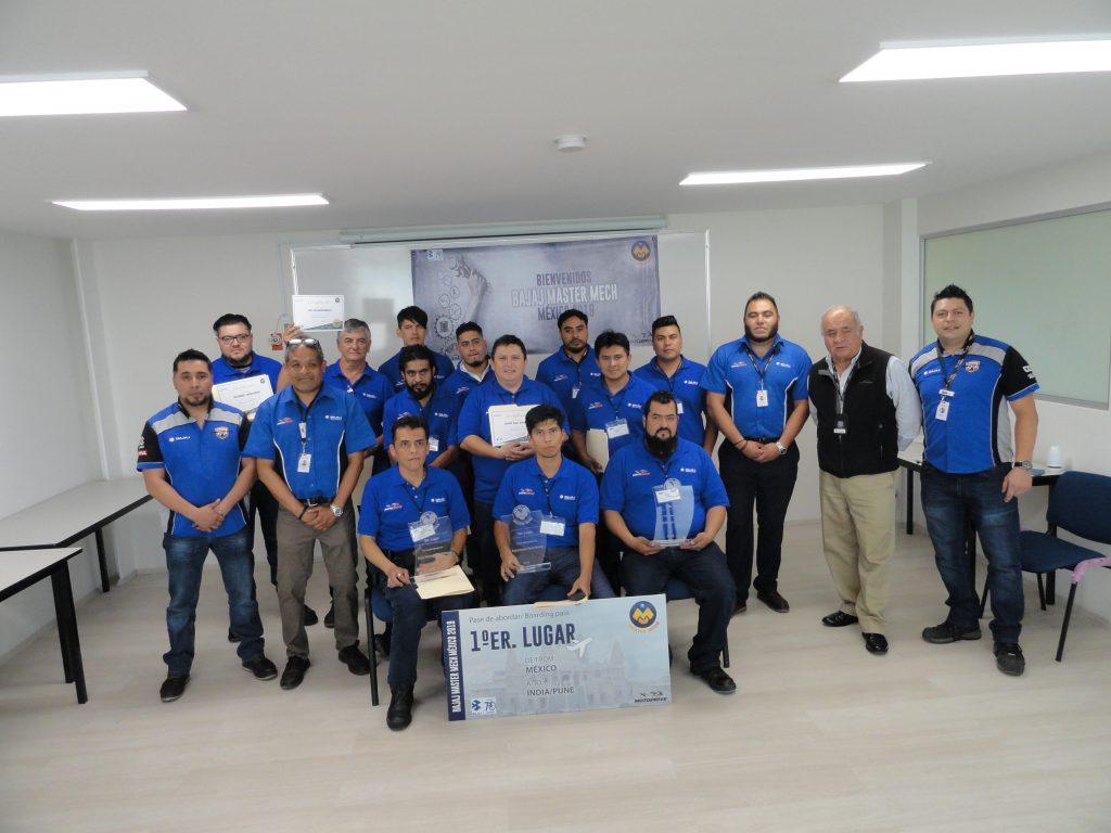 Master Mechs México, el programa de Bajaj Motodrive Bajaj Mastermech 1024x768